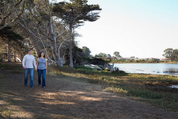 Hiking at the Oaks State Reserve in Los Osos