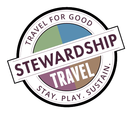 Stewardship Travel for Good Logo