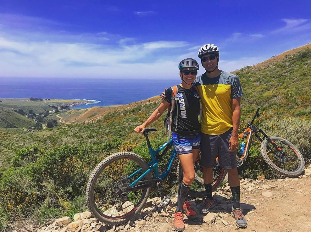 Mountain Biking on Montana De Oro, Colby Lindeman, Instagram Photo