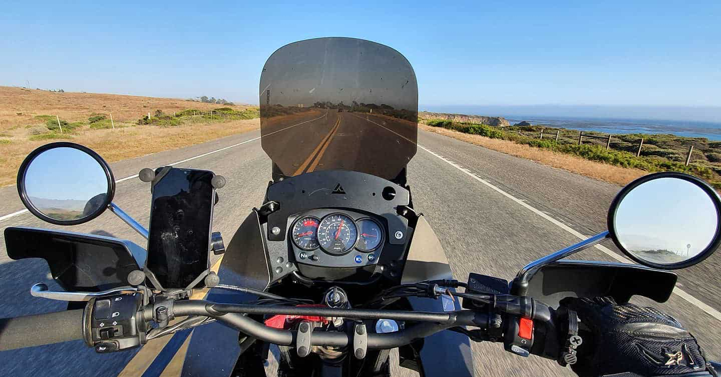 Motorcycle Highway 1 @never_enough_motorcycles