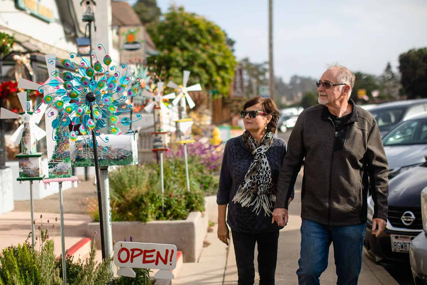 Downtown Cambria Couple