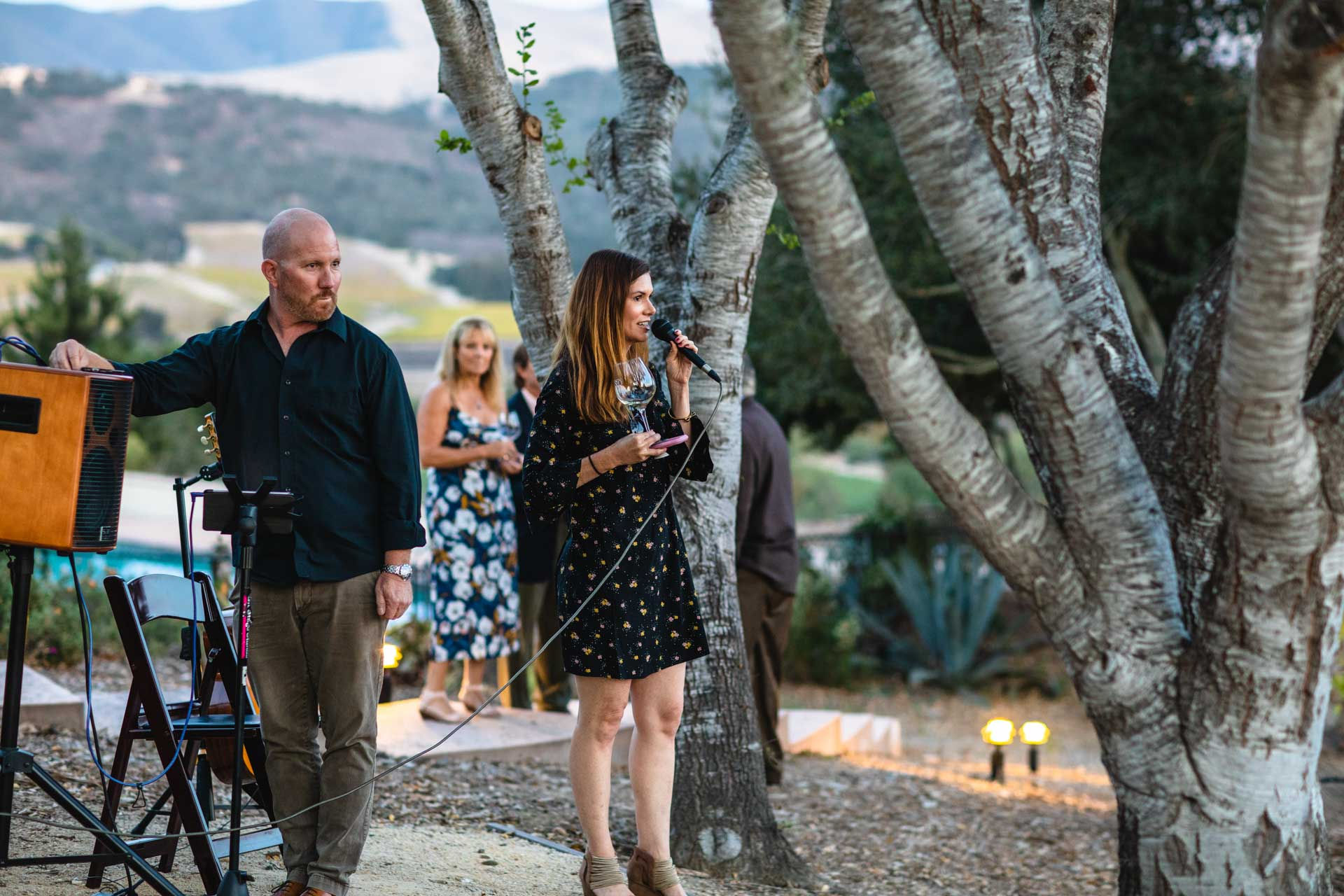 Heather Muran at Crafted on the Coast, Casitas Estate, Arroyo Grande